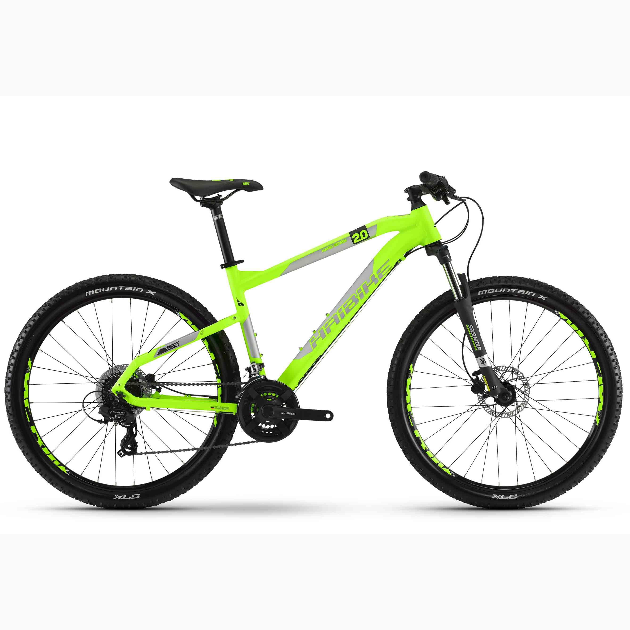 Фото Велосипед Haibike SEET HardSeven 2.0 27,5″, рама 50см, 2018, лайм