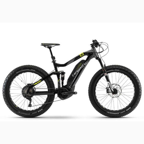 "Фото Велосипед Haibike XDURO FullFatSix 9.0 26"" 500Wh, рама 50см, ход:120мм, 2018"