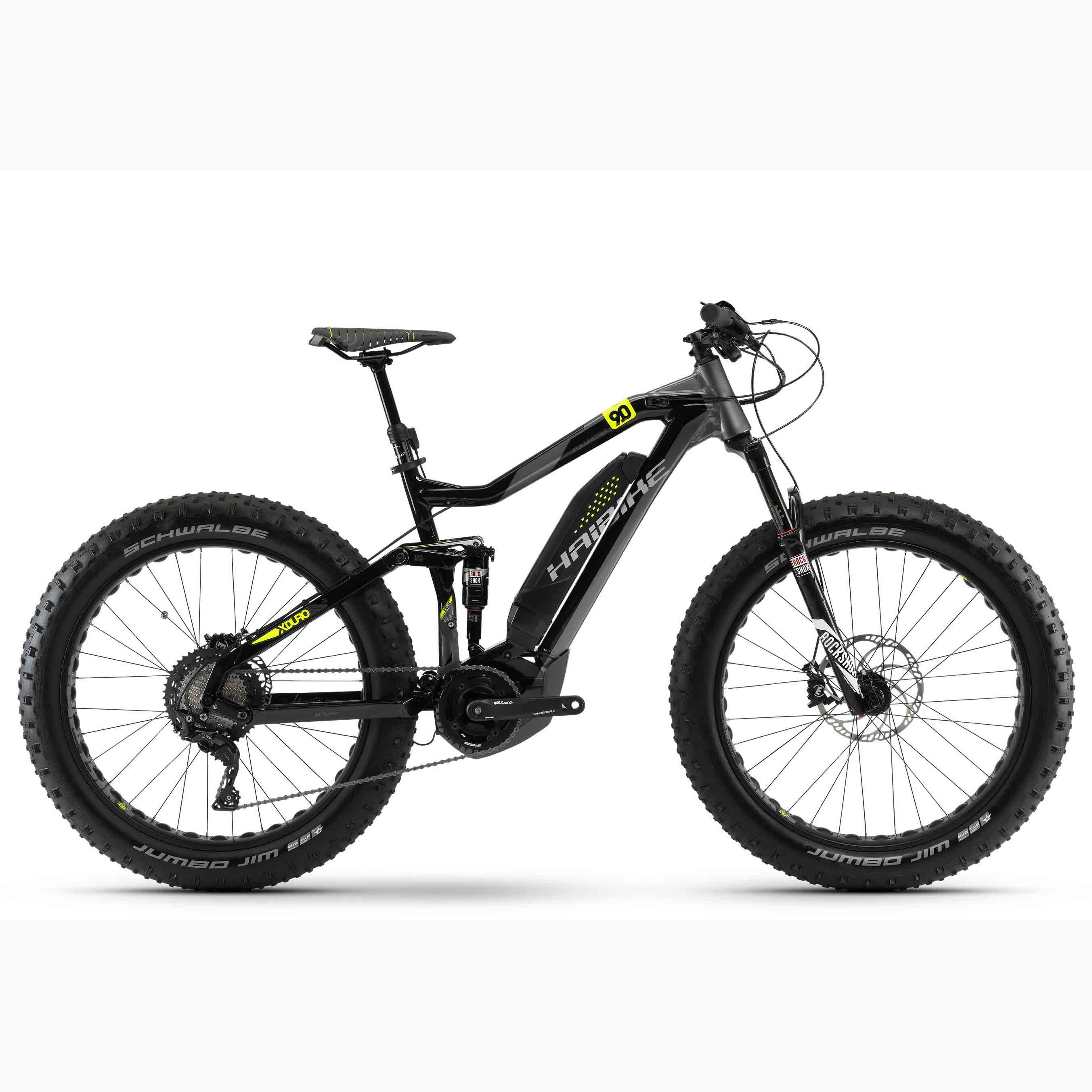 Фото Велосипед Haibike XDURO FullFatSix 9.0 26″ 500Wh, рама 50см, ход:120мм, 2018