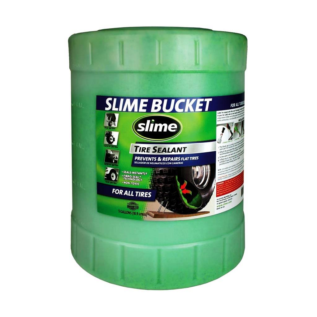 Фото Антипрокольная жидкость для беcкамерок Slime, 19л