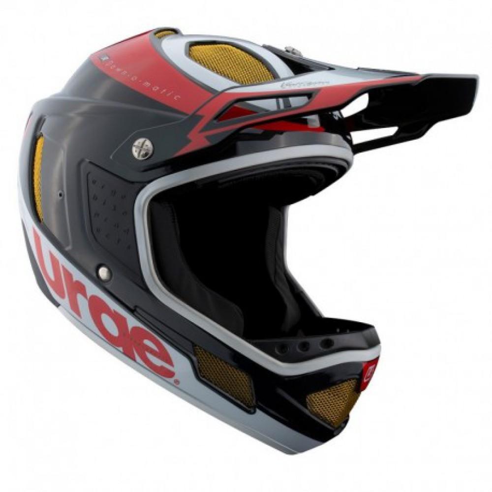 Фото Шлем Urge Down-O-Matic RR — черно-красно-белый — L (59-60cm)