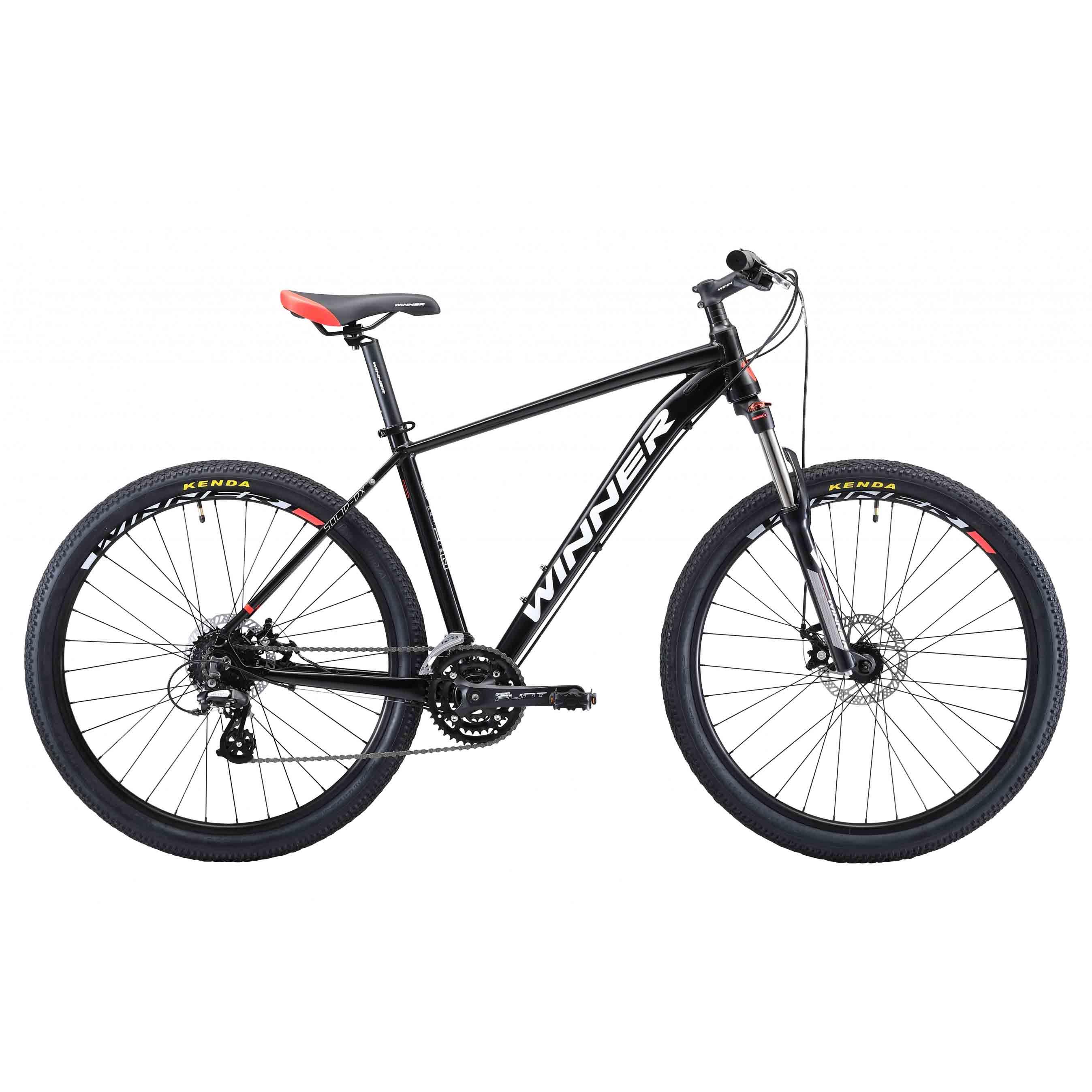 Фото Горный Велосипед Winner 27,5″ SOLID-DХ  17″ (черный)