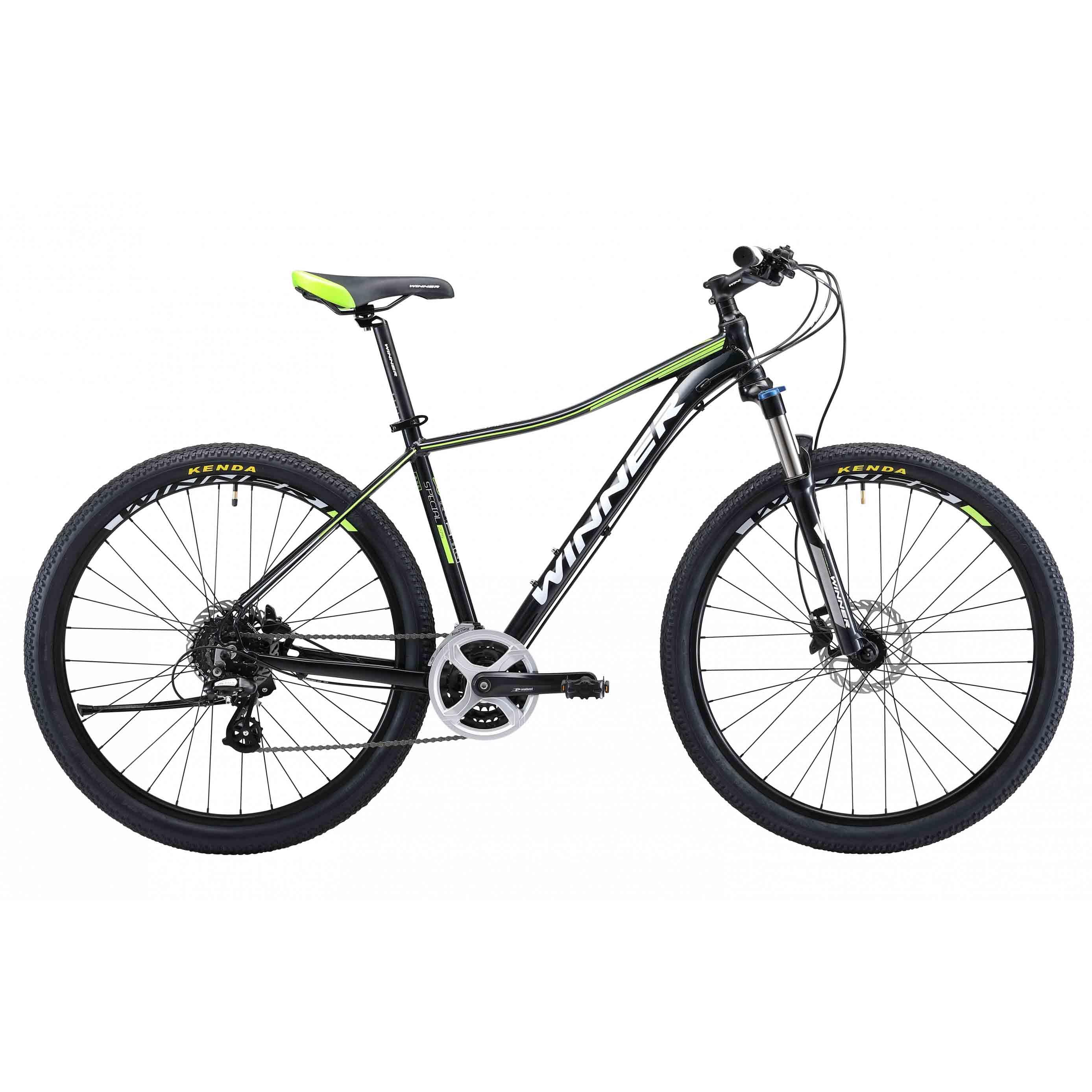 Фото Горный Велосипед Winner 27,5″ SPECIAL  18″ (черный)