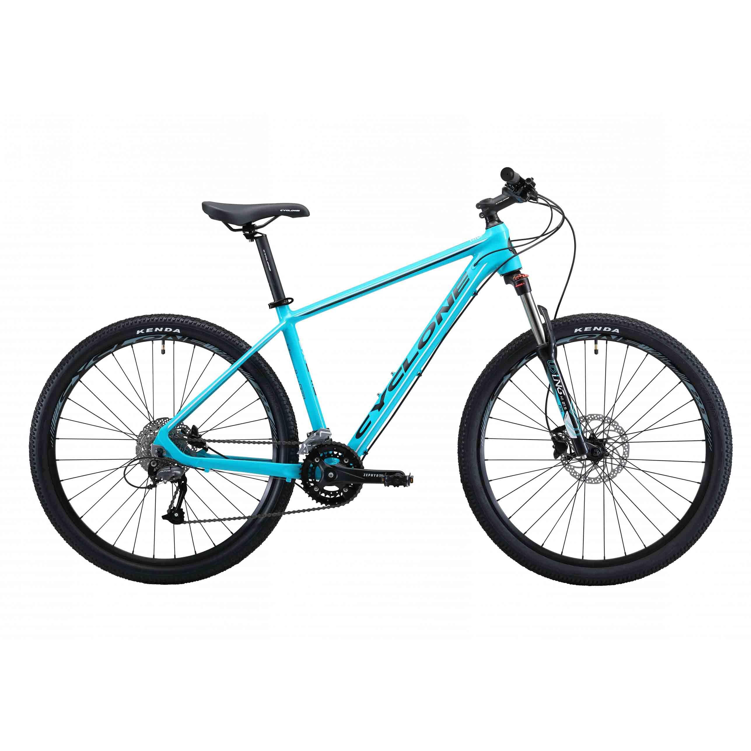 Фото Горный Велосипед Cyclone 27,5″ SX  16″ (голубой)