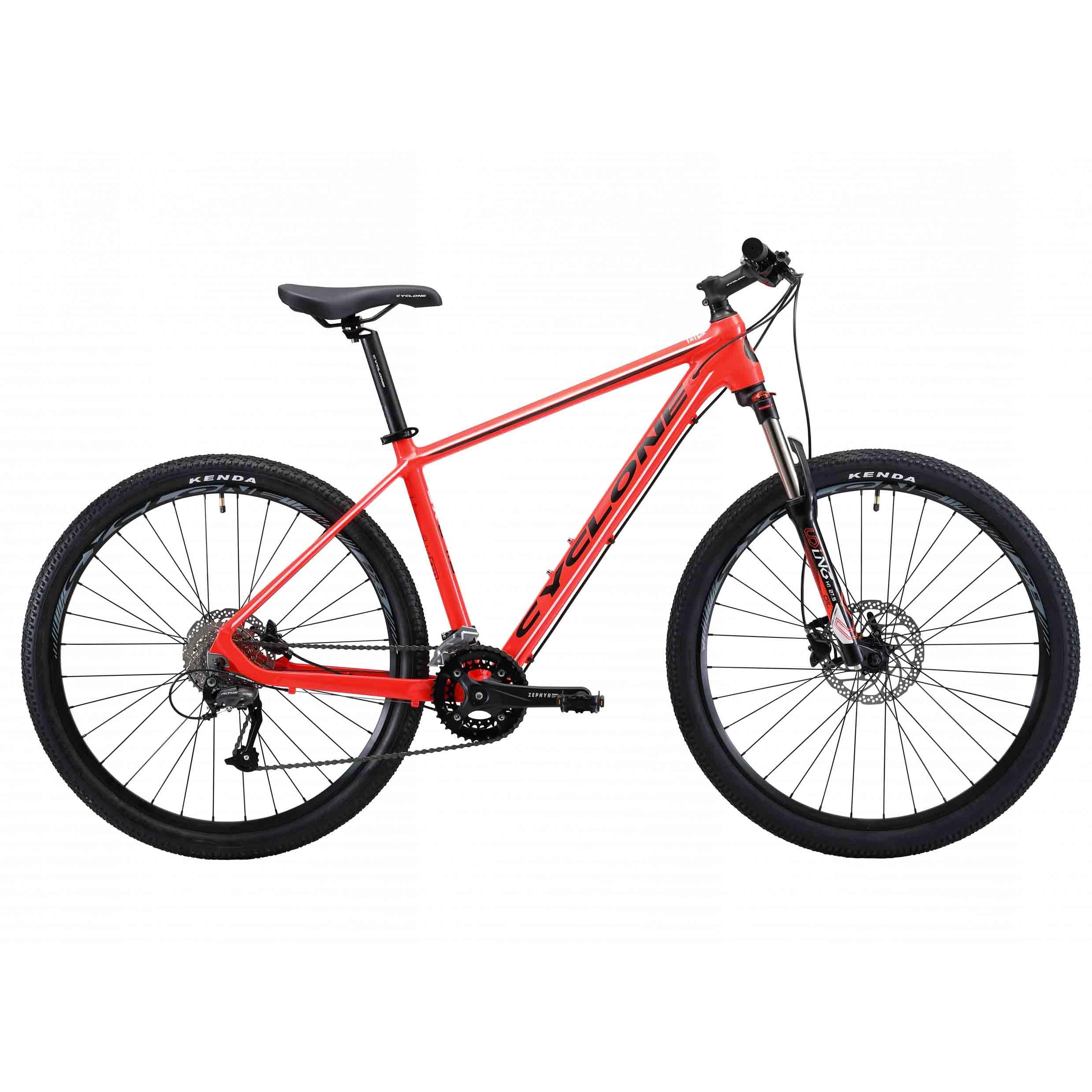 Фото Горный Велосипед Cyclone 27,5″ SX  16″ (красный)