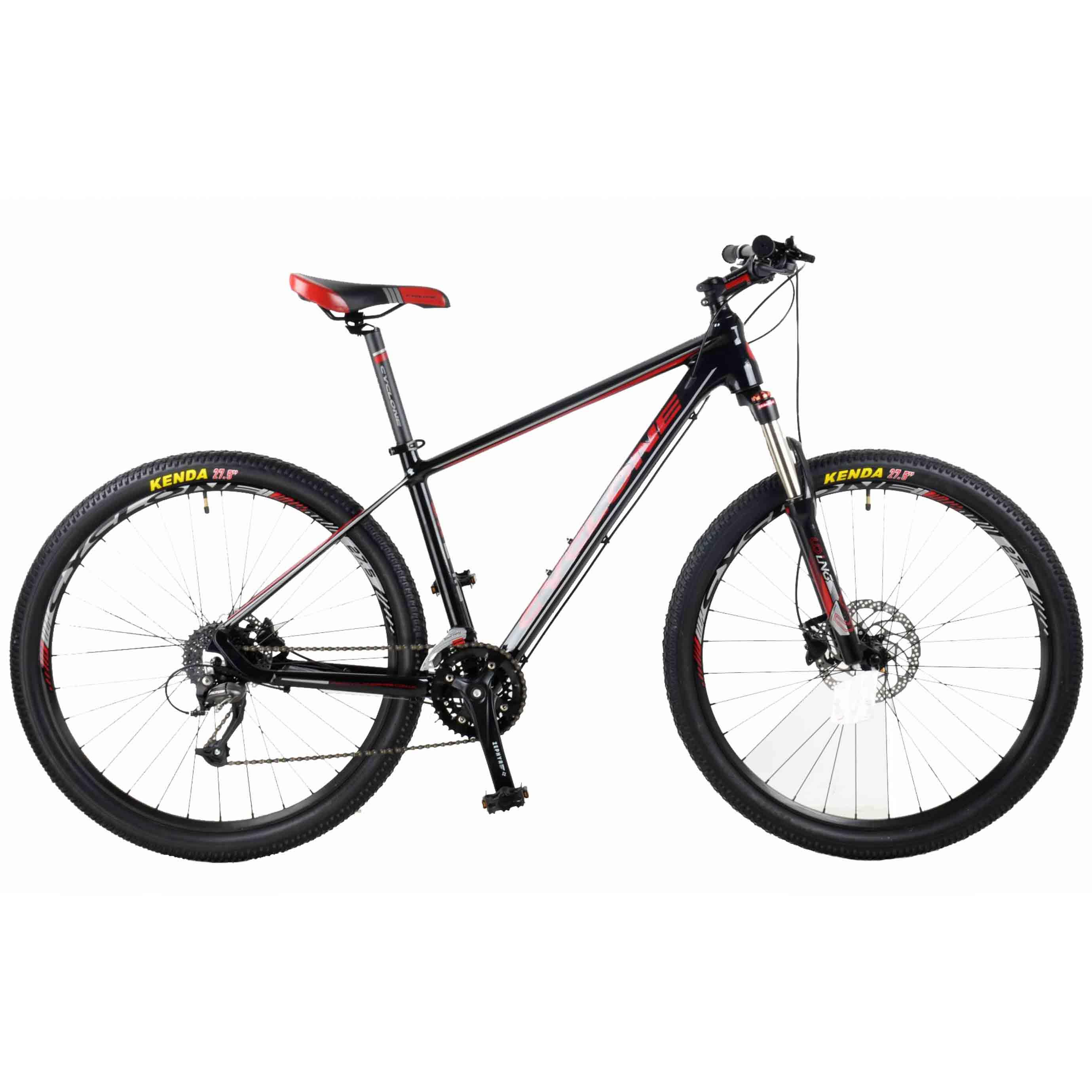 Фото Горный Велосипед Cyclone 27,5″ SX  18″ (черный)