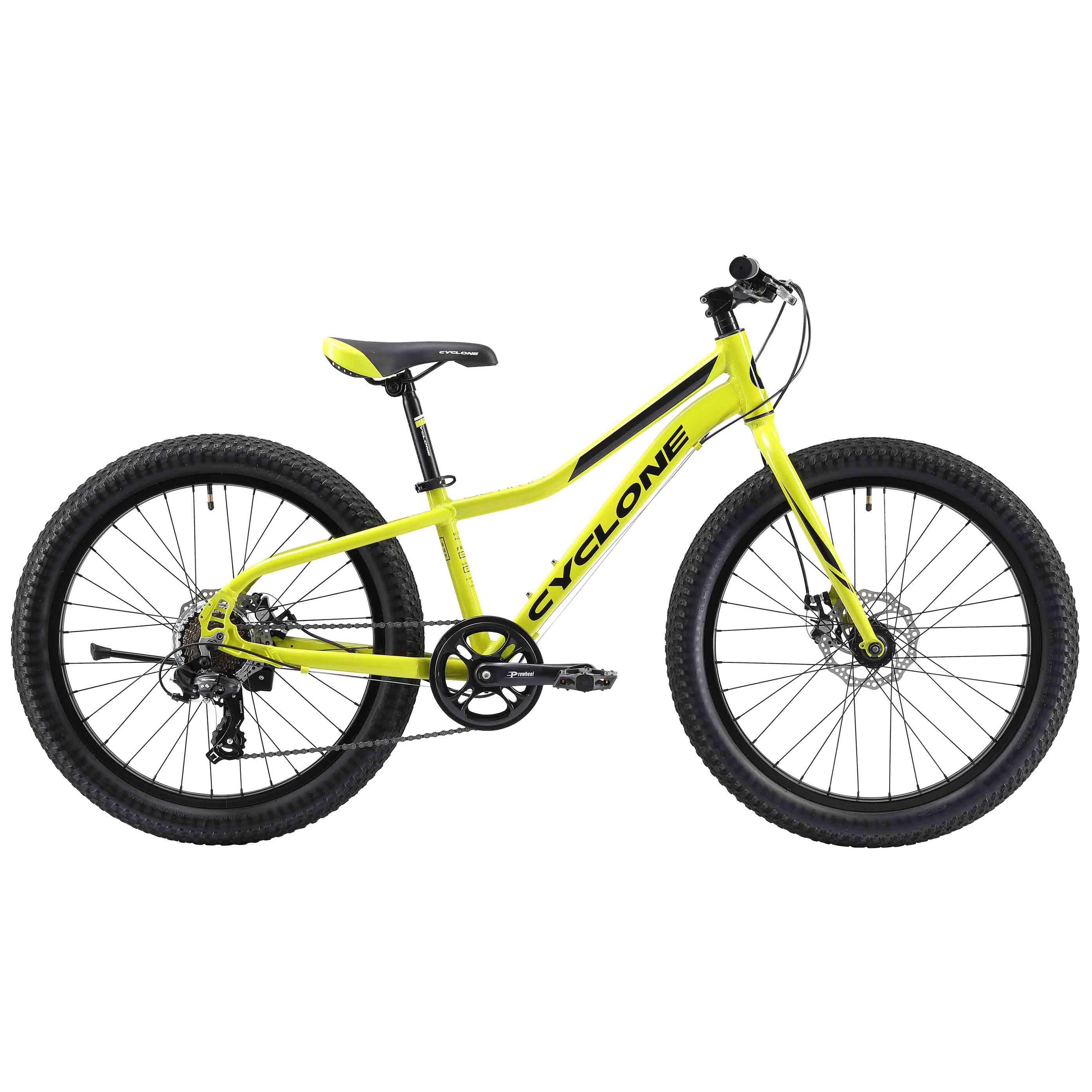 Фото Детский Велосипед Cyclone 24″ ULTIMA 3.0  12″ (зеленый)