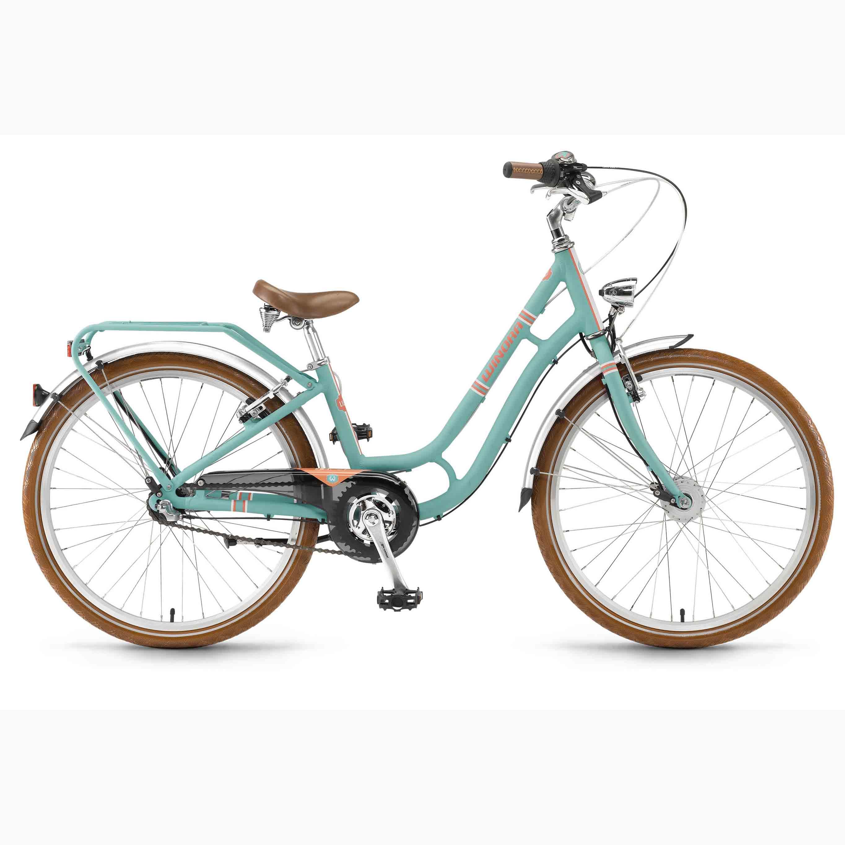 Фото Велосипед Winora Lilou 24″ 3s Nexus, рама 32см, 2018
