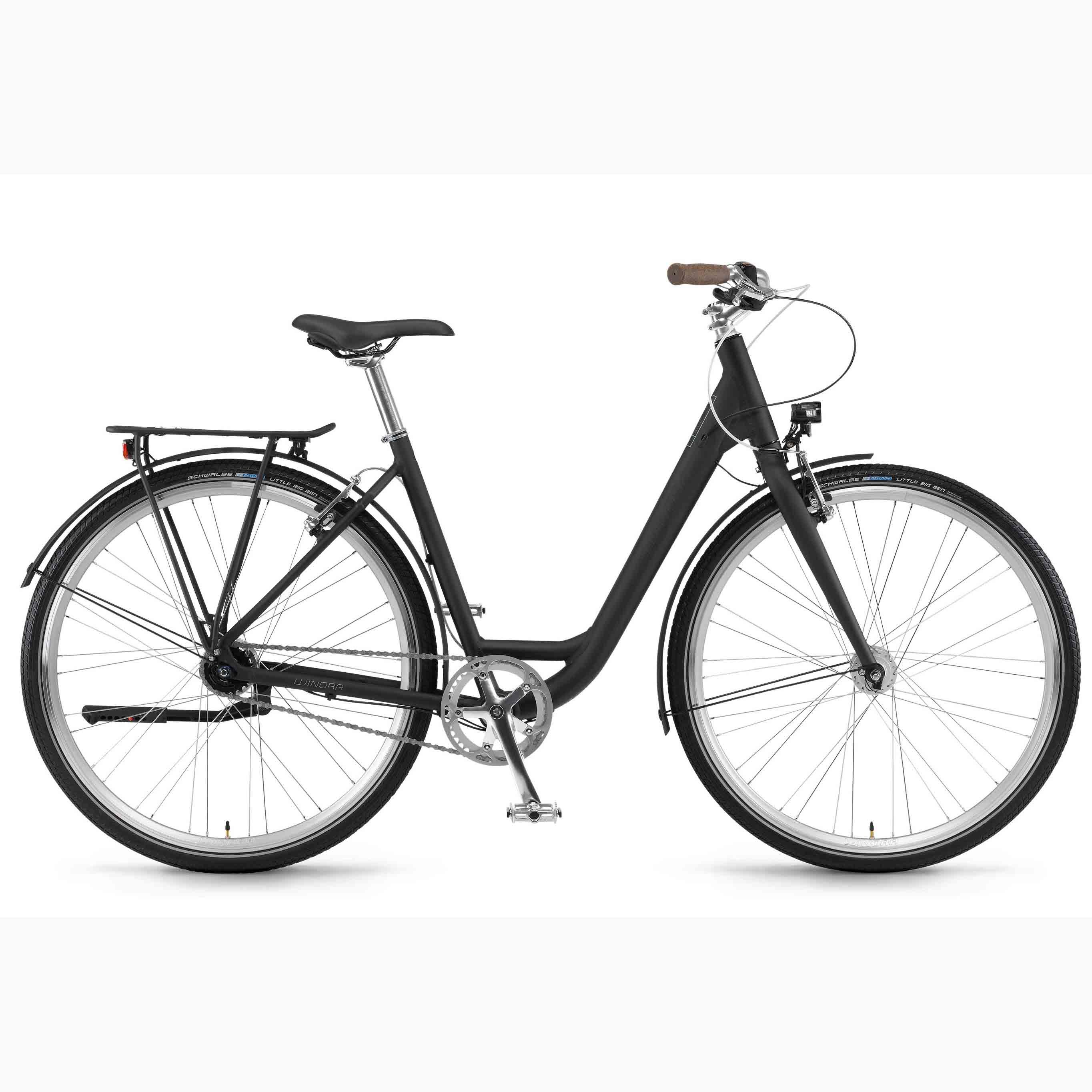Фото Велосипед Winora Lane Monotube 28″ 7s Nexus  FW, рама 46см, 2018