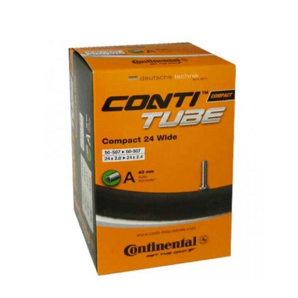 "Фото Камера Continental Compact 24""x2.0-2.4 wide, 50-507 -> 60-507, AV40mm"