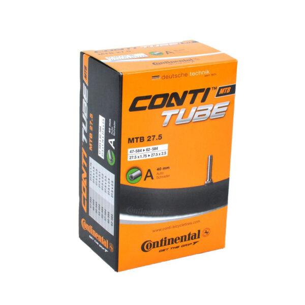 "Фото Камера Continental MTB 27.5""x1.75-2.5, 47-584 -> 62-584, AV40mm"