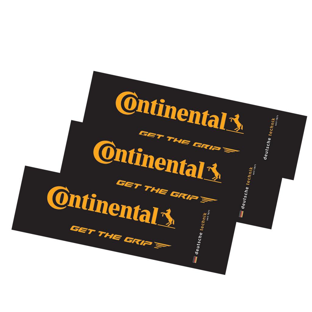 Фото Наклейки Continental, желтые
