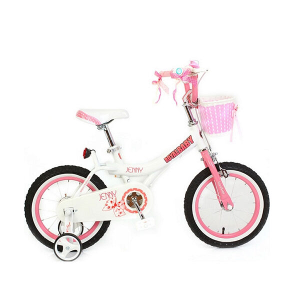 "Фото Велосипед RoyalBaby JENNY GIRLS 16"", белый"