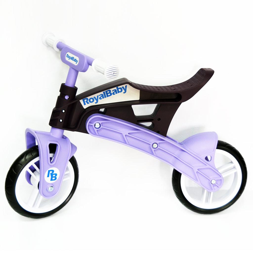 Фото Беговел Real Baby, коричнево-фиолетовый