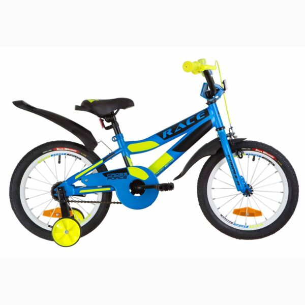 Фото Детский Велосипед 16 Formula RACE усилен. голубой с зеленым (м) 2019