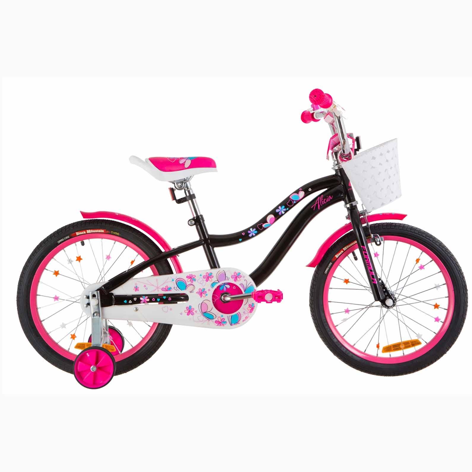 Фото Детский Велосипед 18 Formula ALICIA черный с розовым 2019
