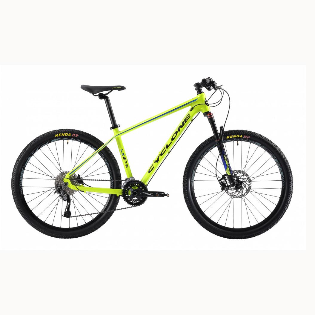 Фото Горный Велосипед Сyclone 27,5″ LX-650b   19″ (зеленый)