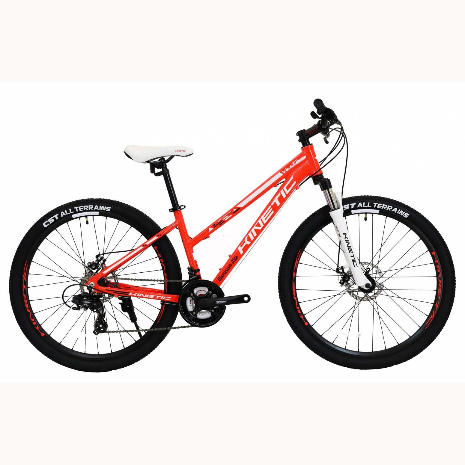 Фото Горный Женский Велосипед Kinetic 27,5″ VESTA  15,5″ (красный)