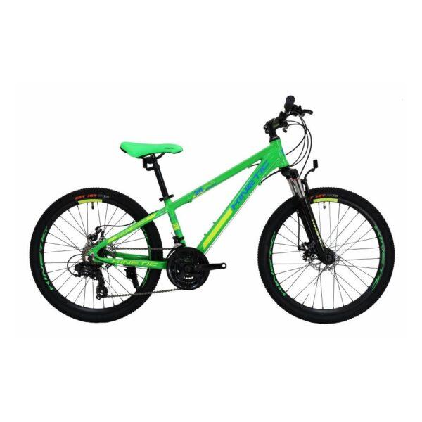 """Фото Подростковый Велосипед Kinetic 24"""" SNIPER  12"""" (зеленый)"""