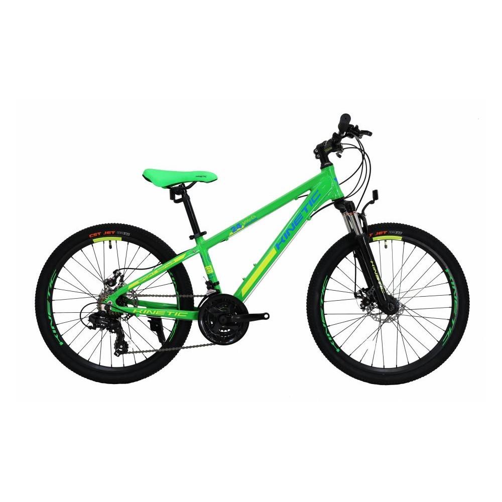Фото Подростковый Велосипед Kinetic 24″ SNIPER  12″ (зеленый)