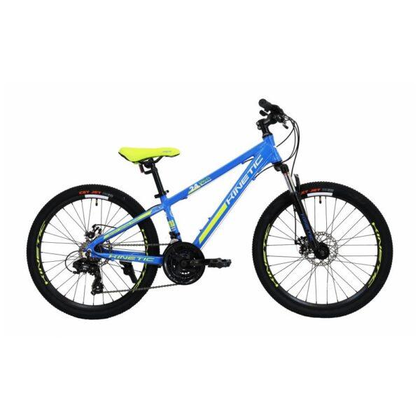 "Фото Подростковый Велосипед Kinetic 24"" SNIPER  12"" (синий)"