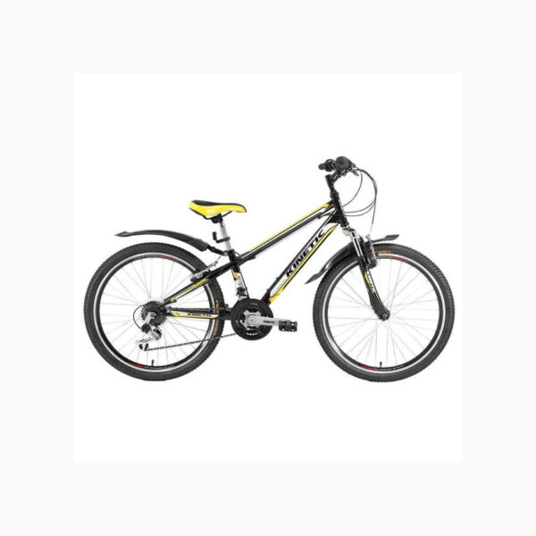 """Фото Подростковый Велосипед Kinetic 24"""" SNIPER  12"""" (черный)"""