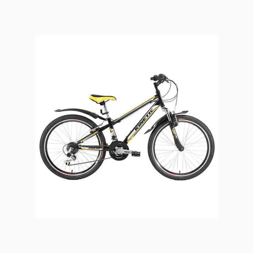 Фото Подростковый Велосипед Kinetic 24″ SNIPER  12″ (черный)