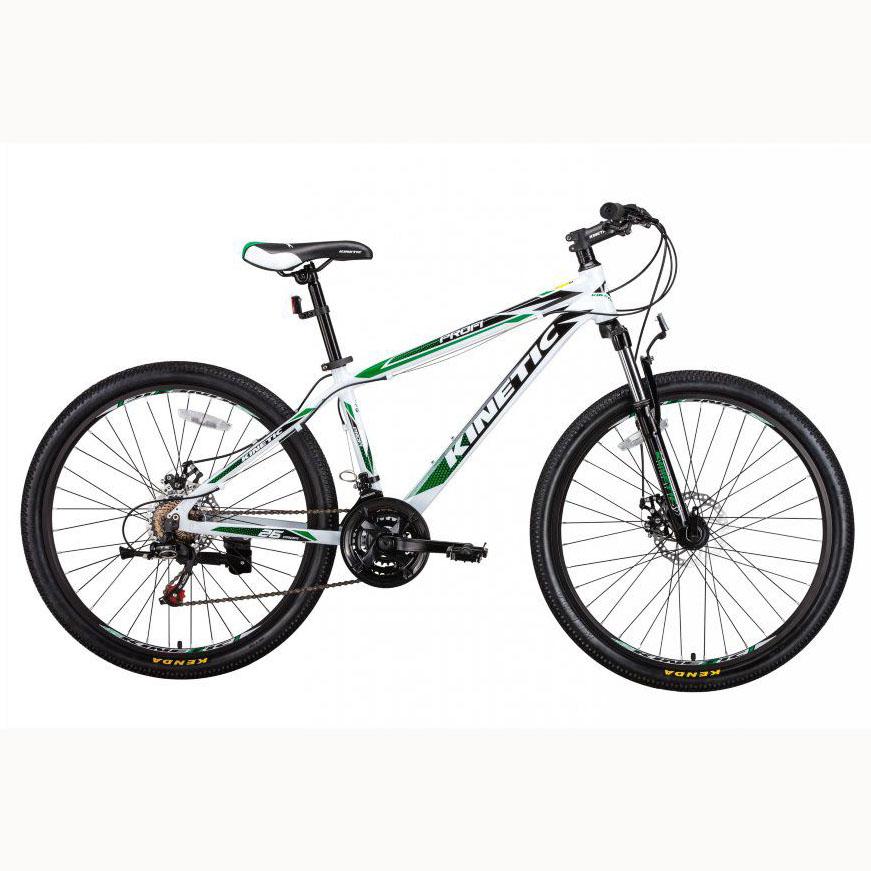 Фото Подростковый  Велосипед Kinetic 26″ PROFI 15″ (белый)