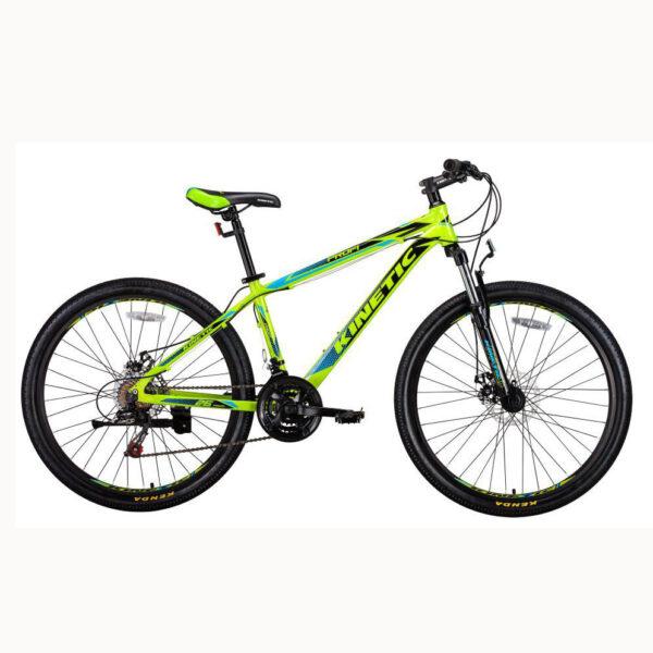 """Фото Подростковый  Велосипед Kinetic 26"""" PROFI 13,5"""" (черн-мат-зел)"""
