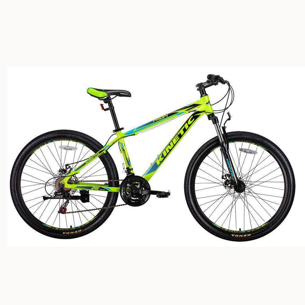 Фото Подростковый  Велосипед Kinetic 26″ PROFI 13,5″ (черн-мат-зел)