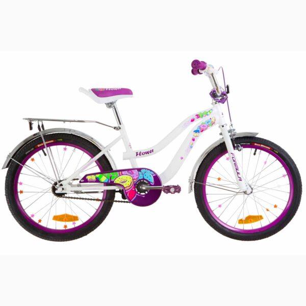 Фото Велосипед 20 Formula FLOWER розовый  2019