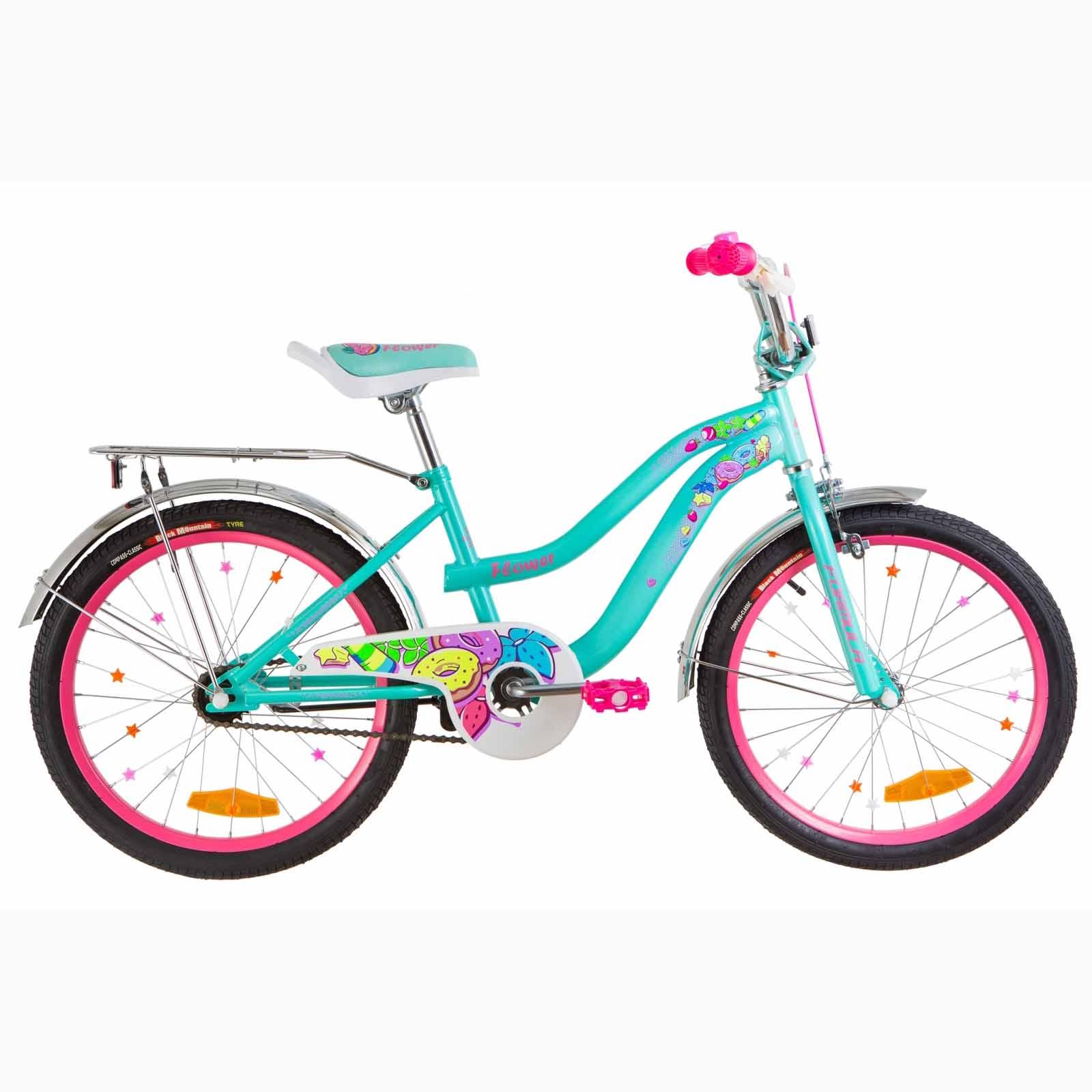 Фото Детский Велосипед 16 Formula FLOWER  бирюзовый  2019