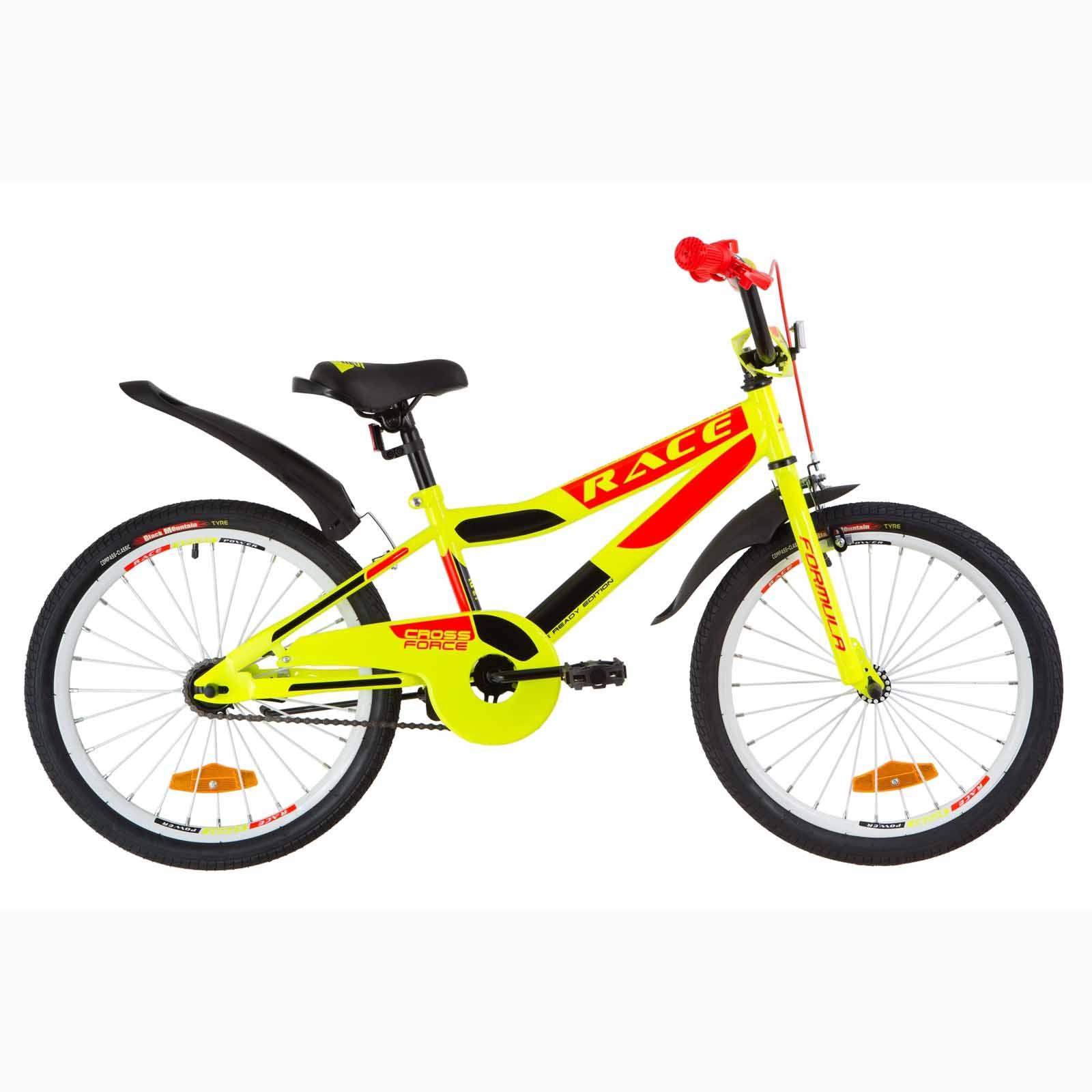 Фото Детский Велосипед 20 Formula RACE  усилен.  желто-оранжевый  2019