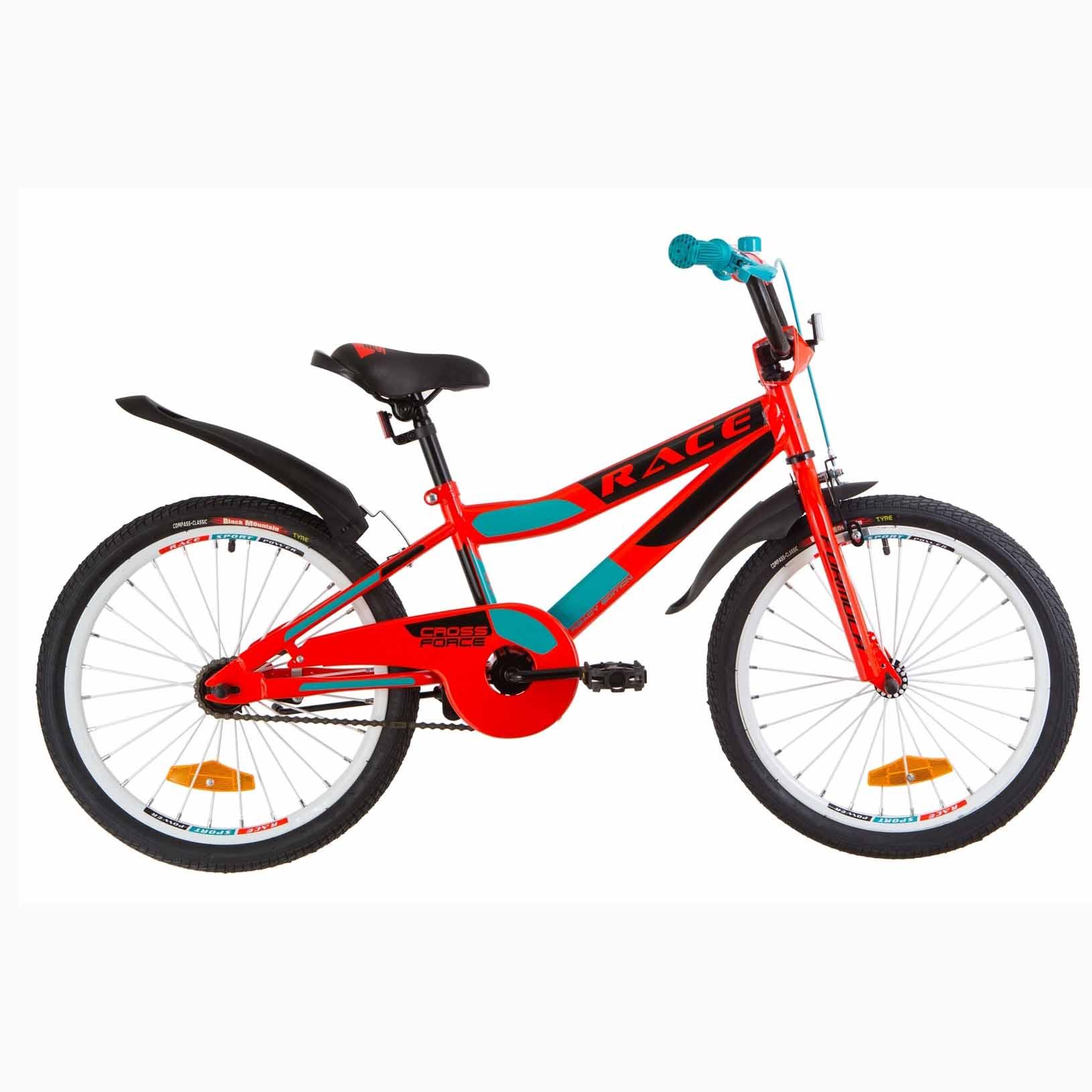 Фото Детский Велосипед 20 Formula RACE  усилен.  красно-бирюзовый  2019