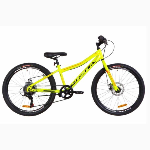 Фото Подростковый Велосипед 24 Formula FOREST DD  зеленый с оранжевым (м) 2019