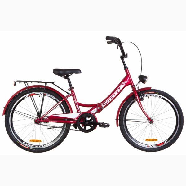 Фото Детский Велосипед 24 Formula SMART красный с фонарём 2019