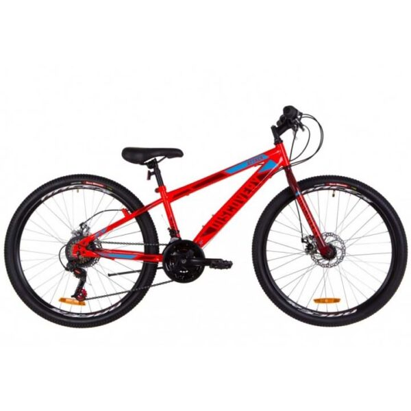 Фото Подростковый  Велосипед 26 Discovery ATTACK  красный акцент с синим 2019