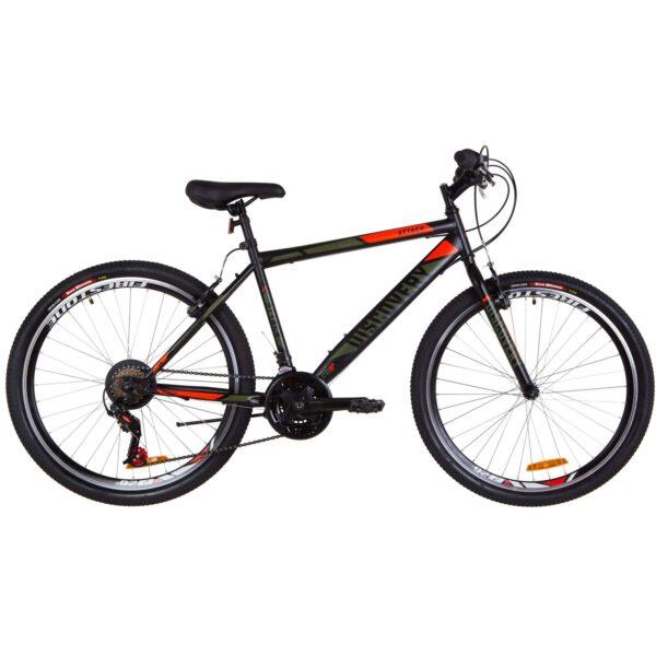 Фото Городской Велосипед 26 Discovery ATTACK  черно-оранжевый хаки (м) 2019