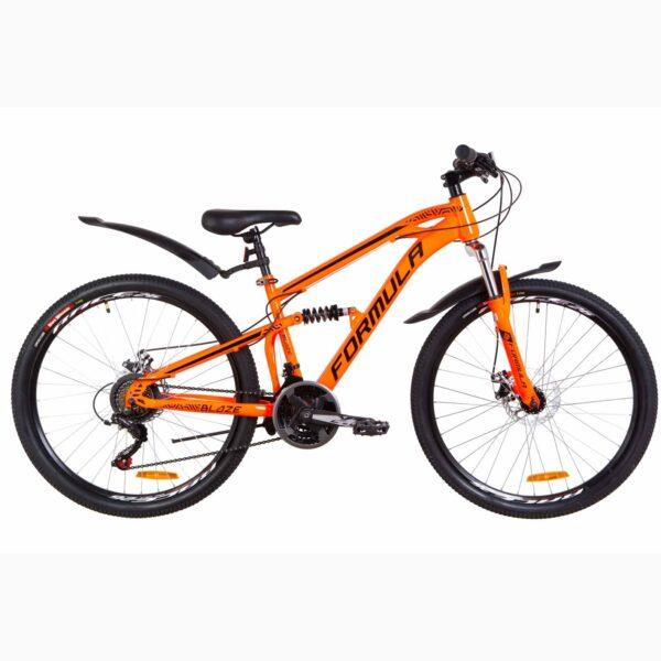 """Фото Велосипед 27.5"""" Formula BLAZE AM2 14G DD рама-16"""" St оранжевый 2019"""