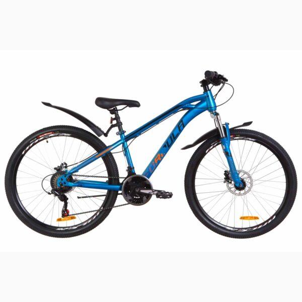 Фото Подростковый Велосипед 26 Formula DAKAR HDD   синий с оранжевым (м) 2019