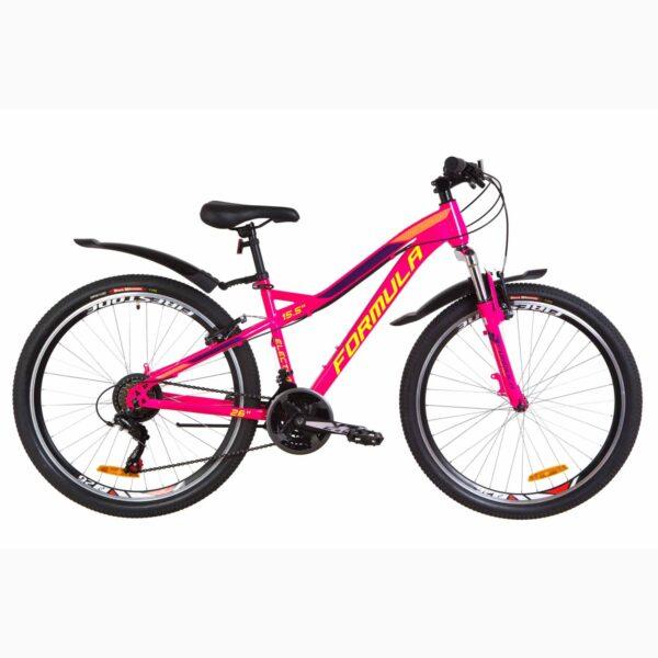 Фото Женский Горный Велосипед 26 Formula ELECTRA  малиновый с салатным 2019
