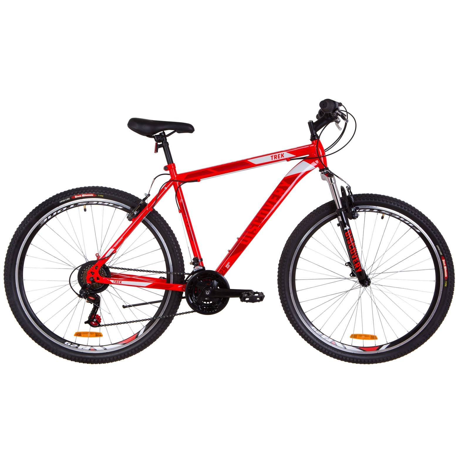 Фото Горный Велосипед 26″ Discovery TREK AM 14G рама-18″ красный  2019
