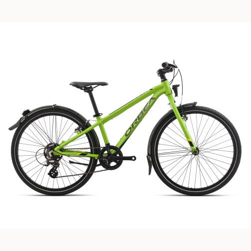 Фото Велосипед Orbea MX 24 PARK 18 Green – Yellow