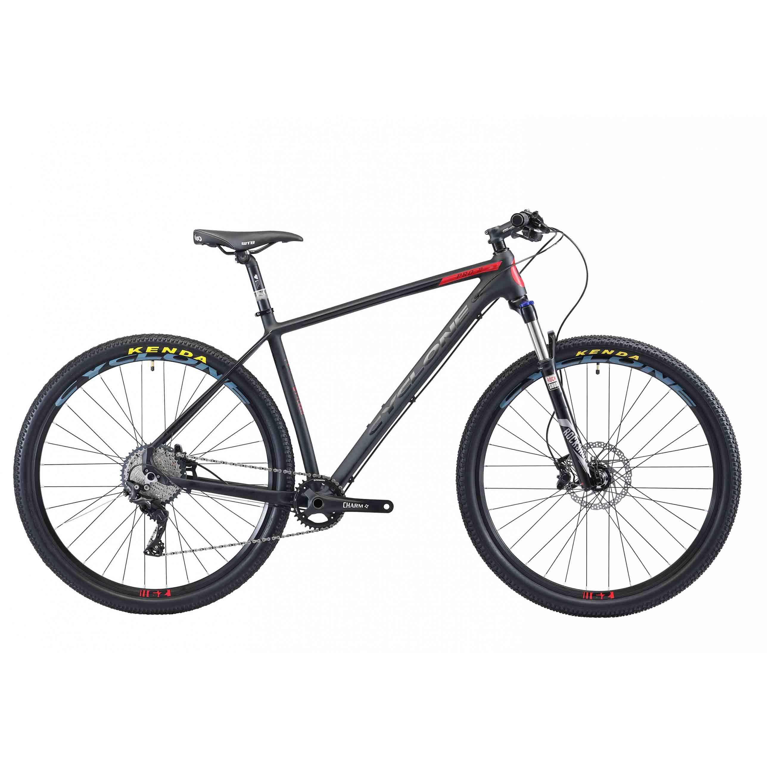 Фото Горный Велосипед Сyclone 29″ PRO-2  20″ (алюм)(черный)