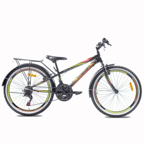 """Фото Велосипед ст Premier Texas 24 11"""" чёрный с крас-жёлт"""