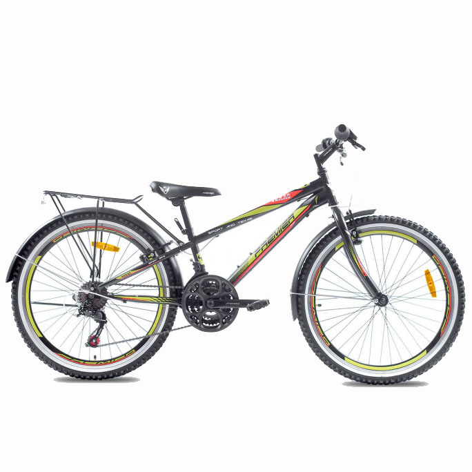Фото Велосипед ст Premier Texas 24 11″ чёрный с крас-жёлт