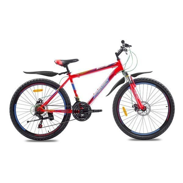 "Фото Велосипед сталь Premier Captain 26 Disc 17"" matt red"