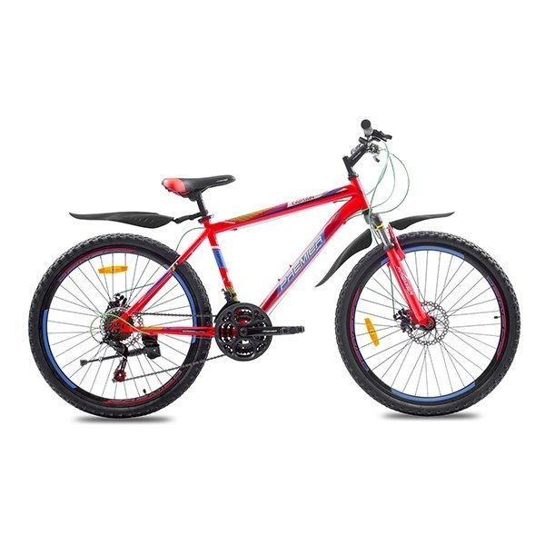Фото Велосипед сталь Premier Captain 26 Disc 17″ matt red