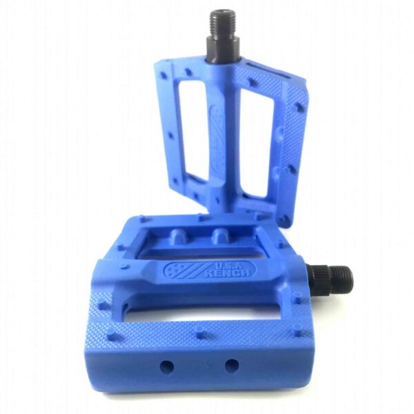 Фото Педаль нейлон-пластик с шипом синяя