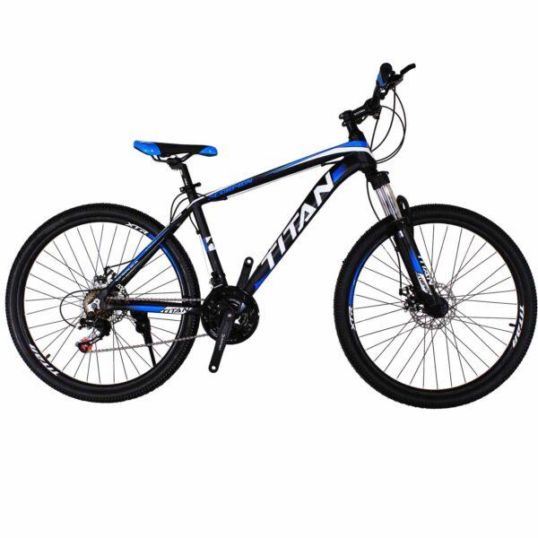 Фото Горный Велосипед Titan Scorpion 26 черно-бело-синий